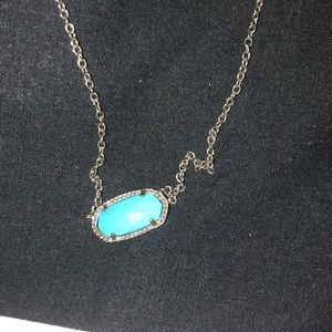 Kendra Scott Jewelry - Turquoise stone silver Kendra Scott necklace